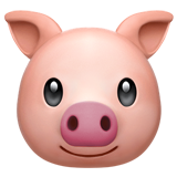 Смайл Морда свиньи ВКонтакте