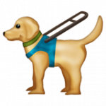 Смайл Собака-поводырь ВКонтакте