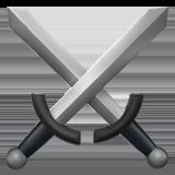 Смайл Скрещенные мечи ВКонтакте