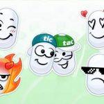 Стикеры Свежие Эмоции ВКонтакте