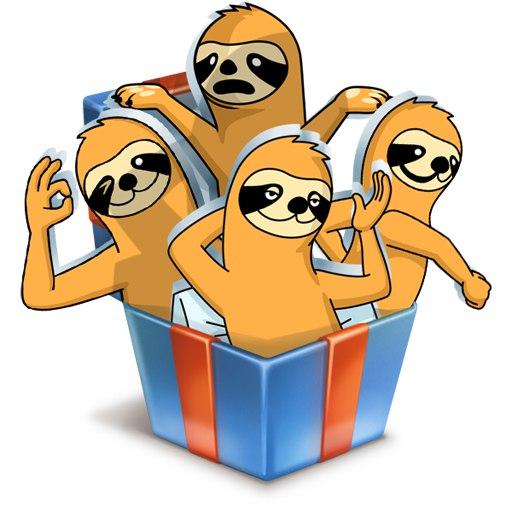Стикеры Свободный от забот ВКонтакте
