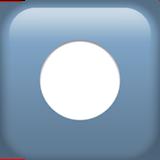 Смайл Чёрный круг (запись) ВКонтакте