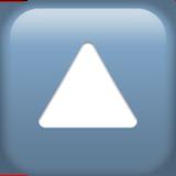 Смайл Кнопка треугольник острием вверх ВКонтакте