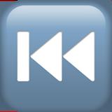 Смайл Предыдущий трек (черный тон) ВКонтакте