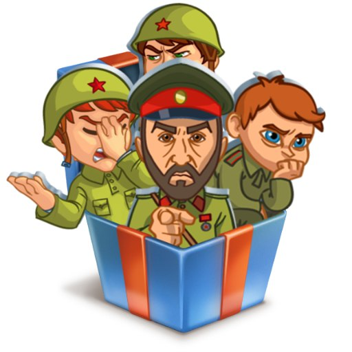 Стикеры в Окопе ВКонтакте