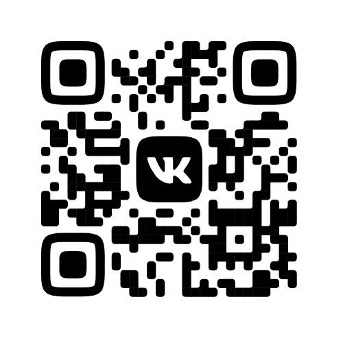 QR код для новой пробная версии ВКонтакте