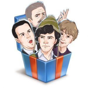 Новая раздача стикеров «Шерлок» от телеканала «Пятница»