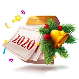 Бесплатный подарок от «Новогодний календарь» ВКонтакте